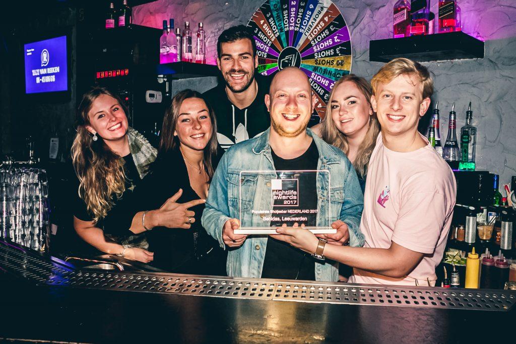Bebida's wint Nightlife Award 2017