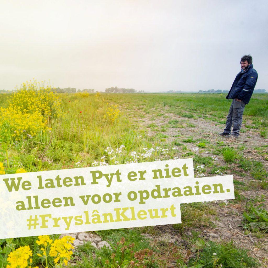 Fryslân Kleurt campagne Klant in Zicht - Pyt