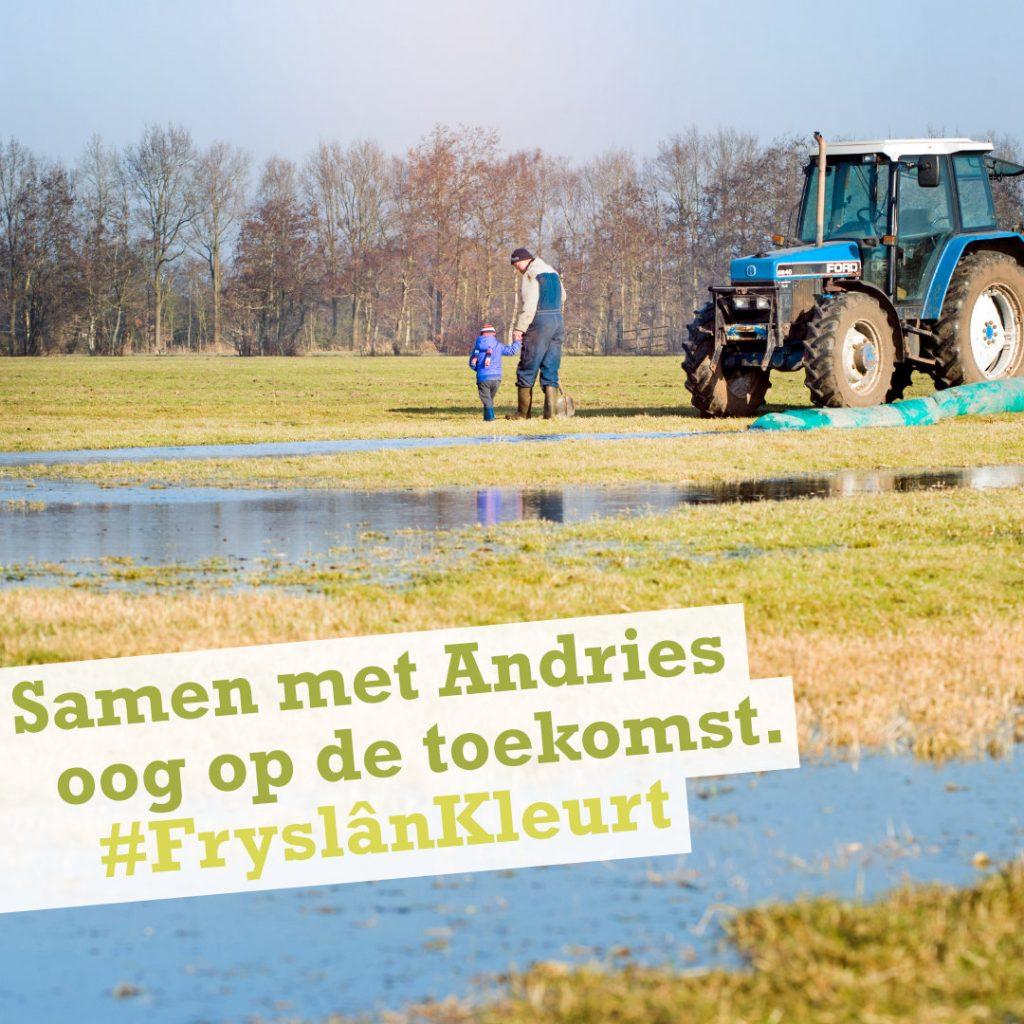 Fryslân Kleurt campagne Klant in Zicht - Andries